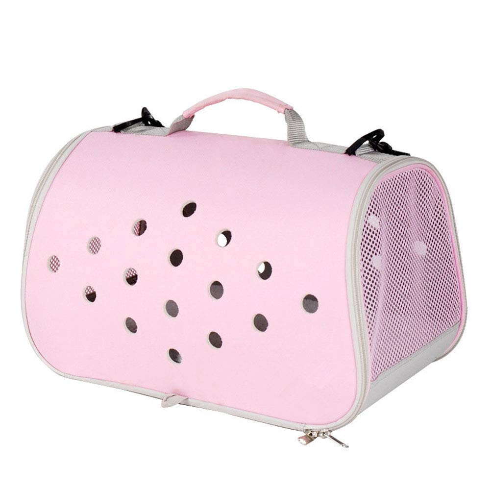 PINK Pet Carrier for Dogs & Cats  Portable SoftSided Air Travel Bag  For Small Or Medium Dog And Cat (color   GREEN)