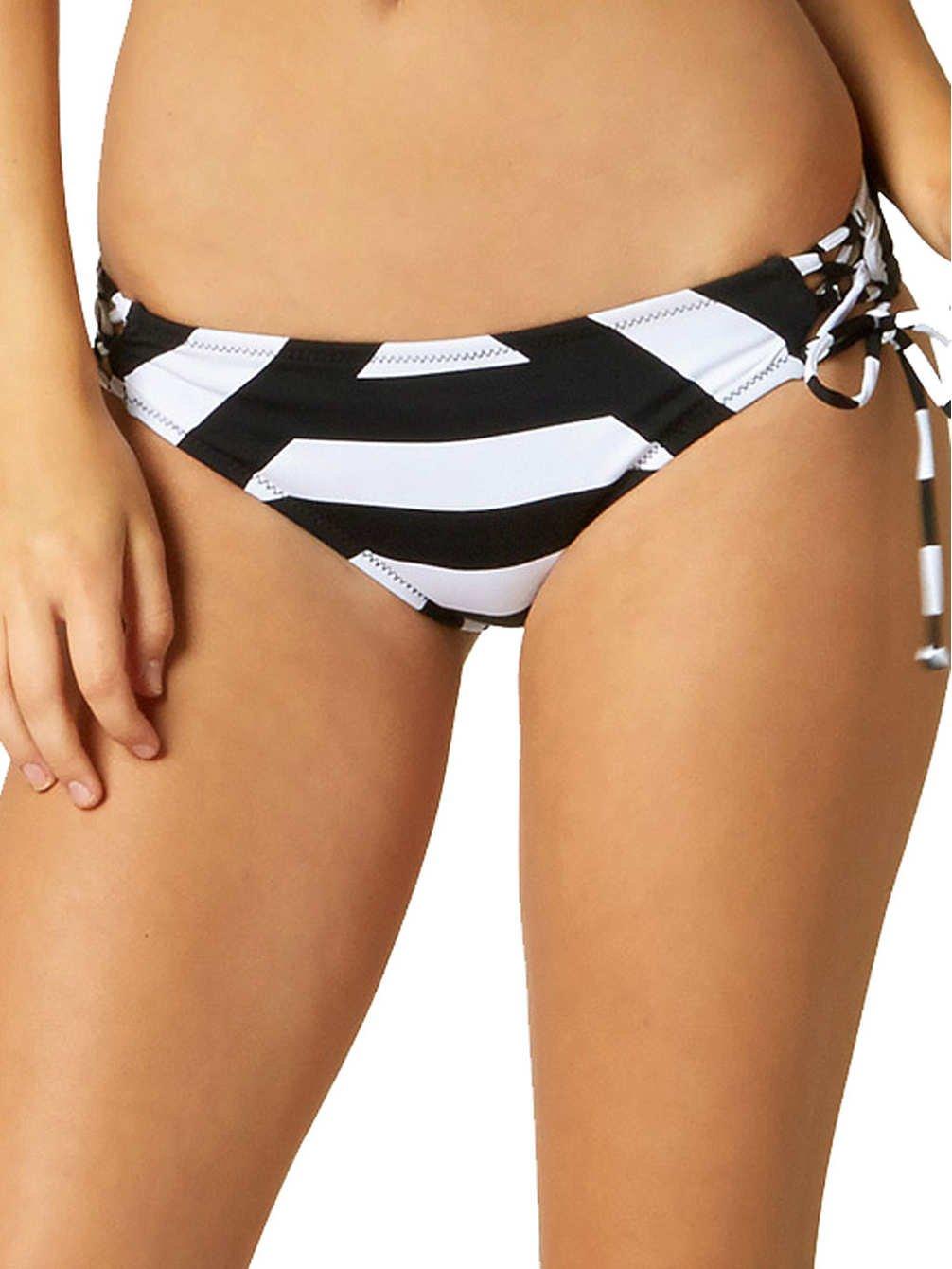 Fox Moxie Lace-Up Side Tie Bikini Bottom