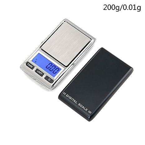 STRIR Báscula de Bolsillo, Mini Báscula Profesional Digital Electrónica de Joyería de la Escala Bolsillo