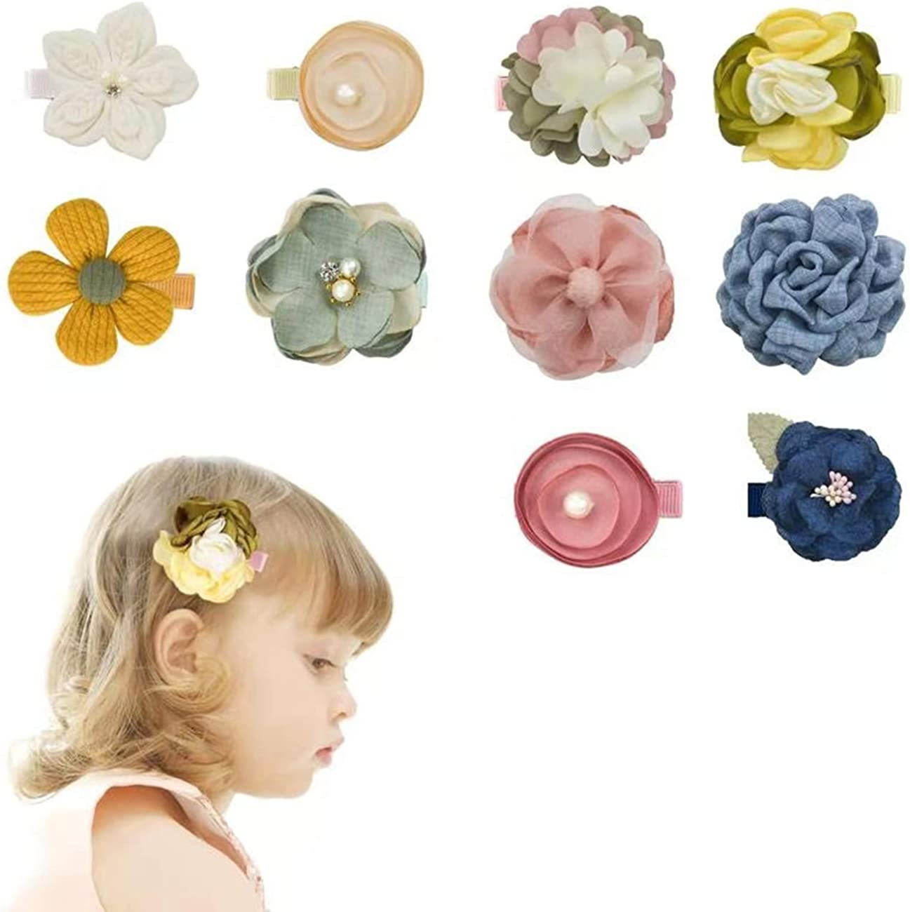 Flower girl hairclips