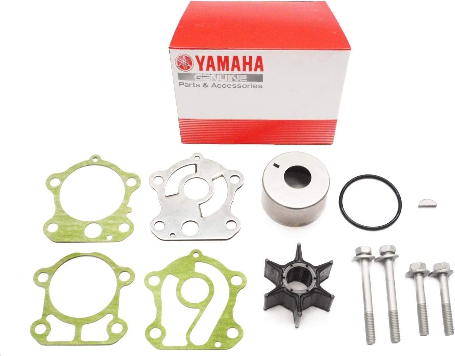 New Yamaha Water Pump Impeller Repair Kit for 60-90hp Outboards 692-W0078-02