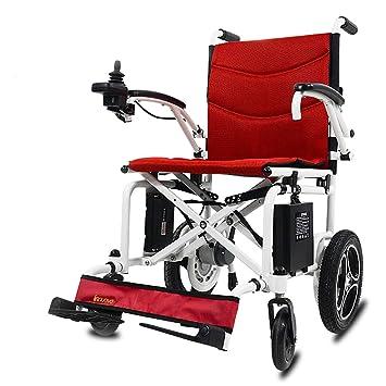 Amazon.com: Sillas de ruedas eléctricas plegables y ligeras ...