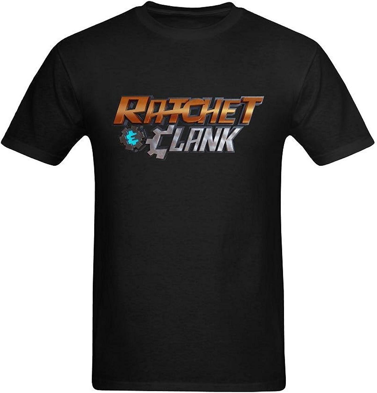 Men S Ratchet Clank Logo T Shirt Xlarge Amazon Co Uk Clothing