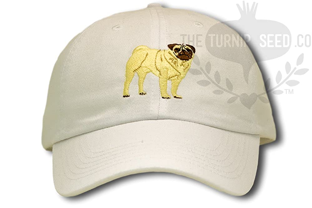 Amazon.com  Pug Dog Baseball Cap  Clothing 1e01a3e87c2