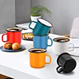 P&P CHEF Enamel Camping Coffee Mug Set of