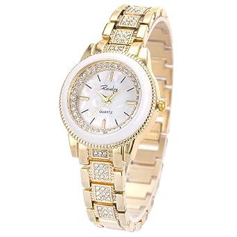 Amazon.com: SIBOSUN - Reloj de pulsera analógico de cuarzo ...