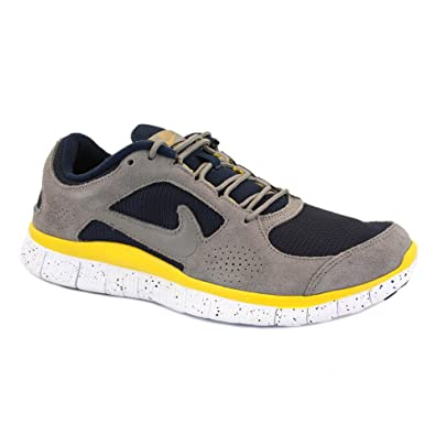 detailing f7603 46769 Nike Free Run 3 Ext 555441 004 Mens Laced Suede   Textile Trainers Grey  Navy - 10  Amazon.co.uk  Shoes   Bags
