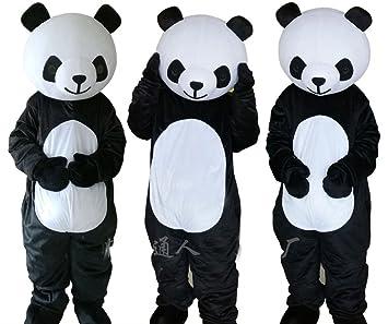 Amazon.com: Yuexi Panda disfraz Panda disfraz adulto disfraz ...