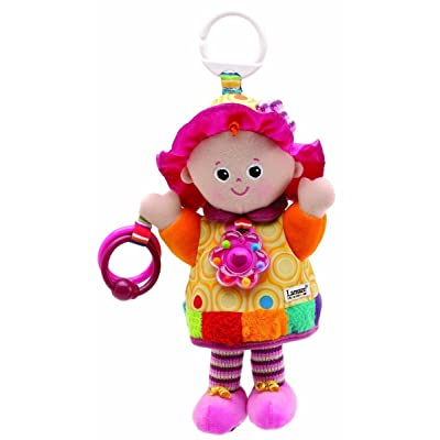 Lamaze My Friend Emily Take Along Doll New Discovery Baby Stroller Toy: Toys & Games