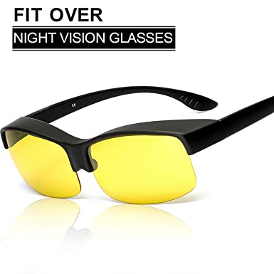 702d894c89 SIPHEW Night Sight Polarised Night Driving Over Glasses