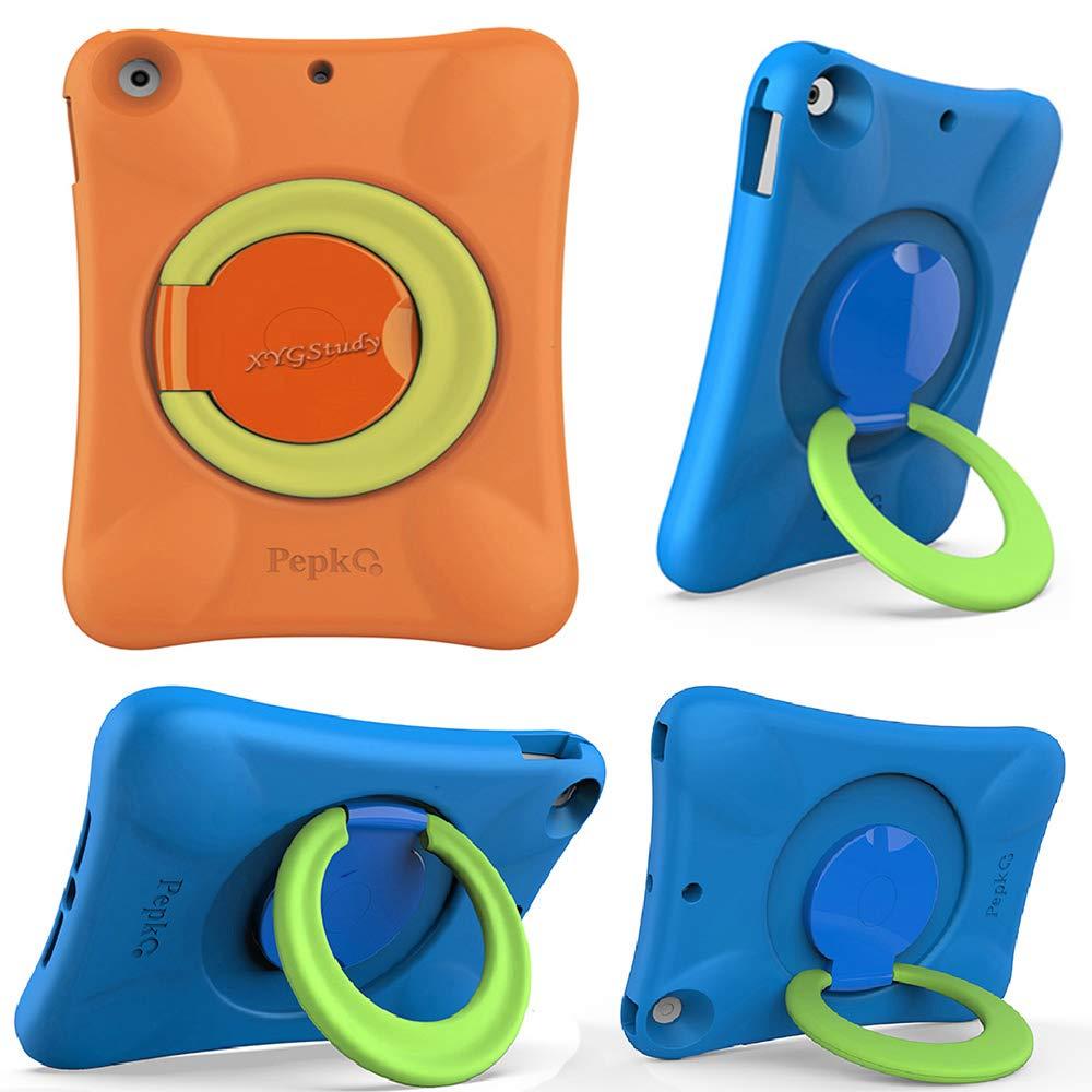 【お気に入り】 XYGStudy iPad5/6 耐衝撃/2017/2018 9.7ケース EVA x Pro 子供用 1.3 耐衝撃 防水 高耐久性 デュアル保護バックカバー キックスタンド付き Apple iPad 9.7 2018 2017 6 5 Air Air 2用 8.6 x 6.3 x 1.3 inches 3-orange/green B07KV5V3NV, Pet's Park:93f06a22 --- senas.4x4.lt