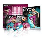 Chalene Johnson's PiYo Base Kit – DVD Workout with Exercise Videos + Fitness Tools and Nutrition Guide