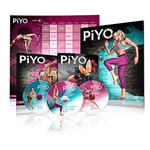 Chalene Johnson's PiYo Base Kit - DVD Workout with Exercise Videos + Fitness Tools and Nutrition - At Try Home On