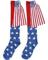 USA American Flag Cape Socks