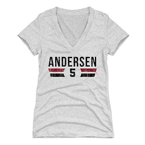 huge selection of 326dc b27bd Amazon.com : 500 LEVEL Morten Andersen Women's Shirt ...