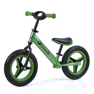 Hauck Alu Rider Balance Bike - Green: Toys & Games