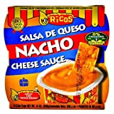 Rico's Nacho Cheese Sauce 4 - 3.5 Oz Cups (Pack of 6)