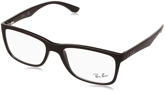 9829aa672b5 Image Unavailable. Image not available for. Colour  Ray-Ban Full Rim Square  Unisex Spectacle Frame ...
