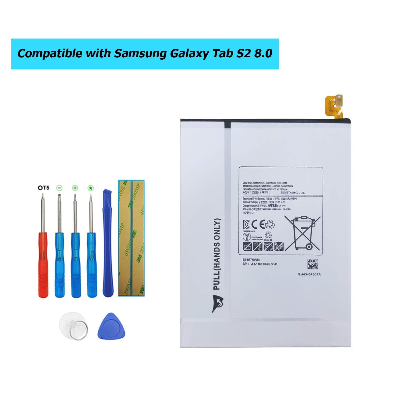 Bateria Tablet EB-BT710ABE para Samsung Tab S2 8.0 LTE-A SM-