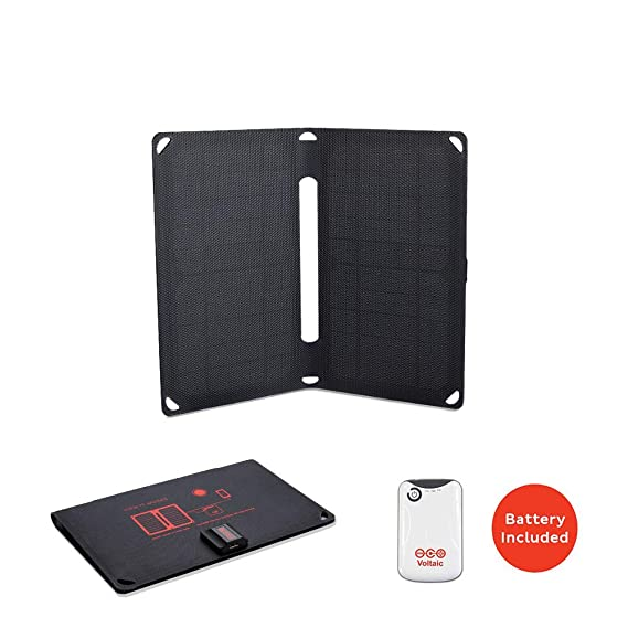 af21528b022274 Voltaic Systems Arc 10 Watt Rapid Solar Panel Charger | Includes a Battery  Pack (Power