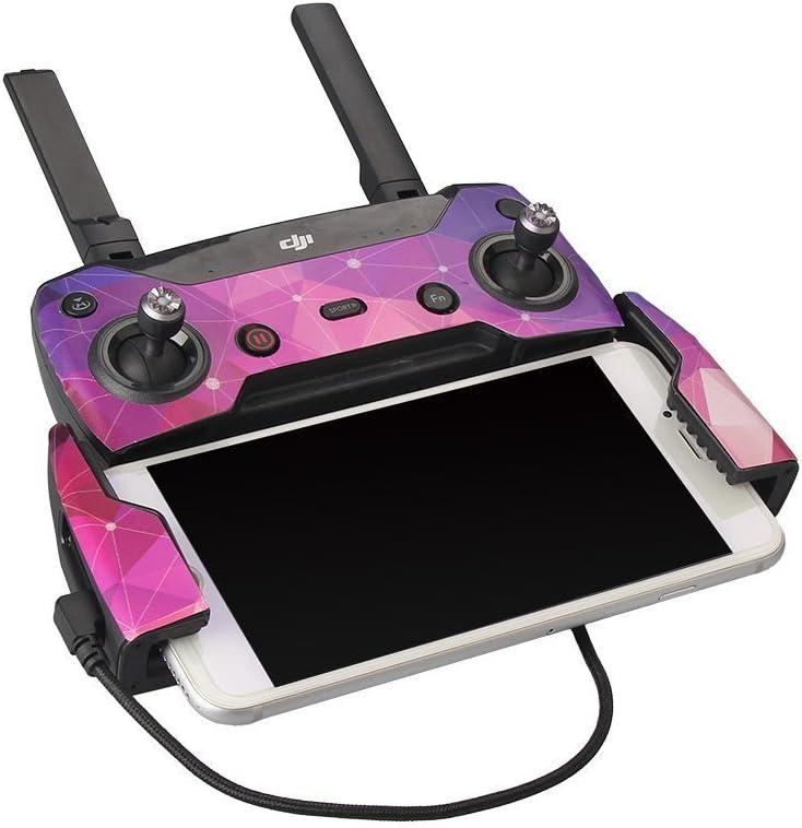 YUNIQUE Italia 1 Stuck 21 cm Lange Nylon Telefon Pro Drohne Fernbedienung Android Smartphone//Tablet Micro-USB-Anschluss Video Kabel f/ür DJI Mavic