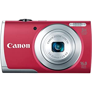 Canon PowerShot A2600 16.0 MP Digital Camera