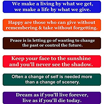 Amazon Happiness Quotes Fridge Magnets Inspirational Words Simple Quote For Today About Happiness