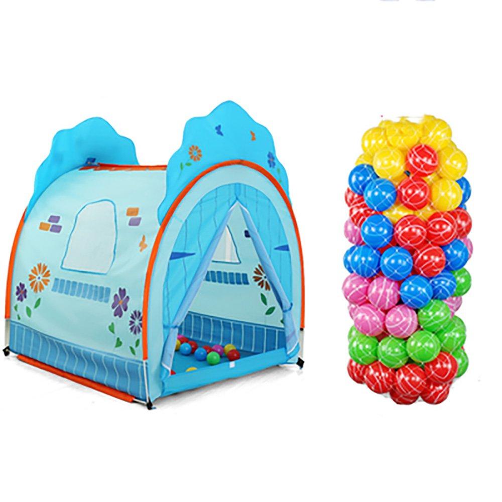 NAUY- Set von 2 Kinder-Zelt Spiel Haus Innen-und Outdoor-Spielzeug Haus Baby Heimspiel Zelte