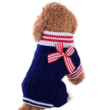 Sannysis Mascotas Perros Accesorios Ropa montaña Camisetas Ropa Caliente suéter de Invierno Mascotas Gatos Ropa Chihuahua