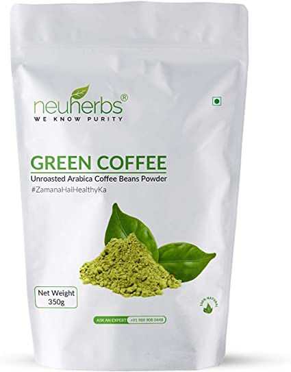 100 Organic No Side Effects Pure Green Coffee Beans Powder For