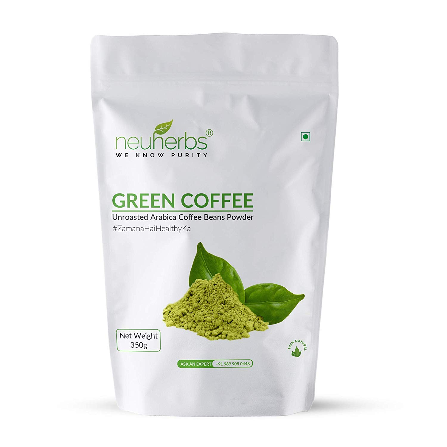 Amazon Com 100 Organic No Side Effects Pure Green Coffee Beans