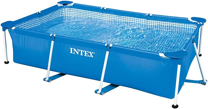 Intex Piscina Rectangular Frame 260x160x65cm 28271NP Terraza y ...