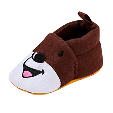 a4160d1671592 Amazon.com: Baby Walking Shoes 0-18 Months, Newborn Infant Toddler ...