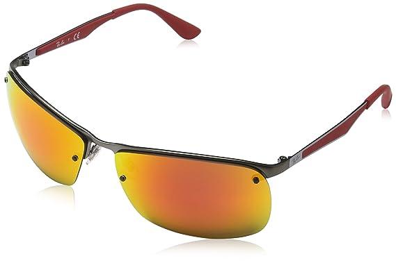 ray ban sonnenbrille grau