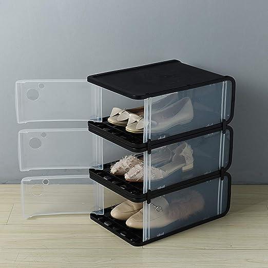 ADAHX Cajas De Plástico Transparente para Guardar Zapatos, Inicio ...