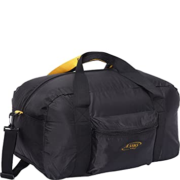 A. Saks 22 quot Carry-On Nylon Duffel Bag With Pouch ... cbfd39e71a3