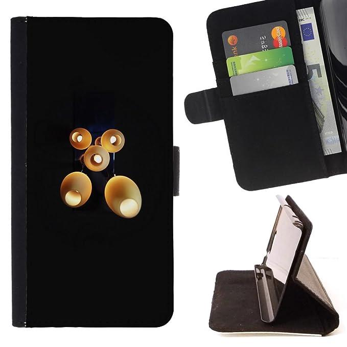 Momo teléfono móvil/ - Funda de piel con tarjetero de mesa ights ...