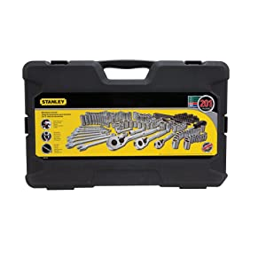 STANLEY Drive Socket Set for Mechanics, 201-Piece (STMT71654)
