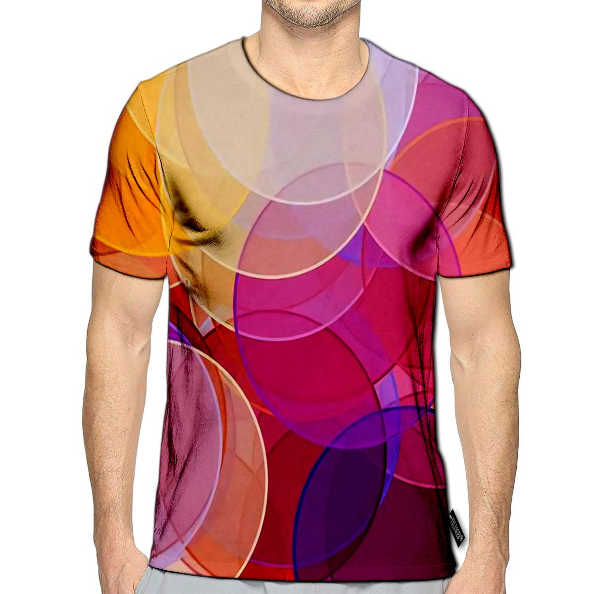 3D Printed T-Shirts Pink Tulips Flowers Blossom Bouquet Oil Painting On Canvas Short Sleeve Tops Tees