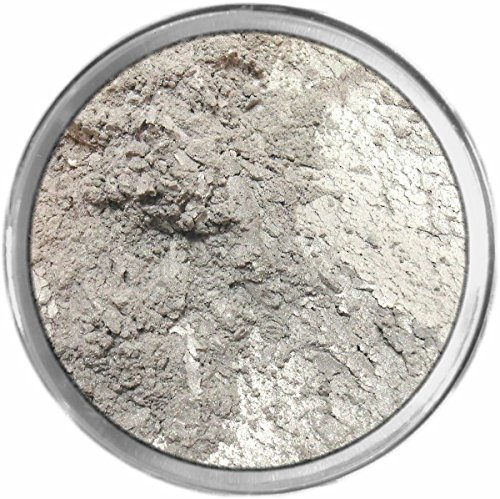 Urban Loose Powder Mineral Shimmer Multi Use Eyes Face Color Makeup Bare Earth Pigment Minerals Make Up Cosmetics By M*A*D Minerals Cruelty Free - 10 Gram Sized Sifter Jar (Silver Sifter)