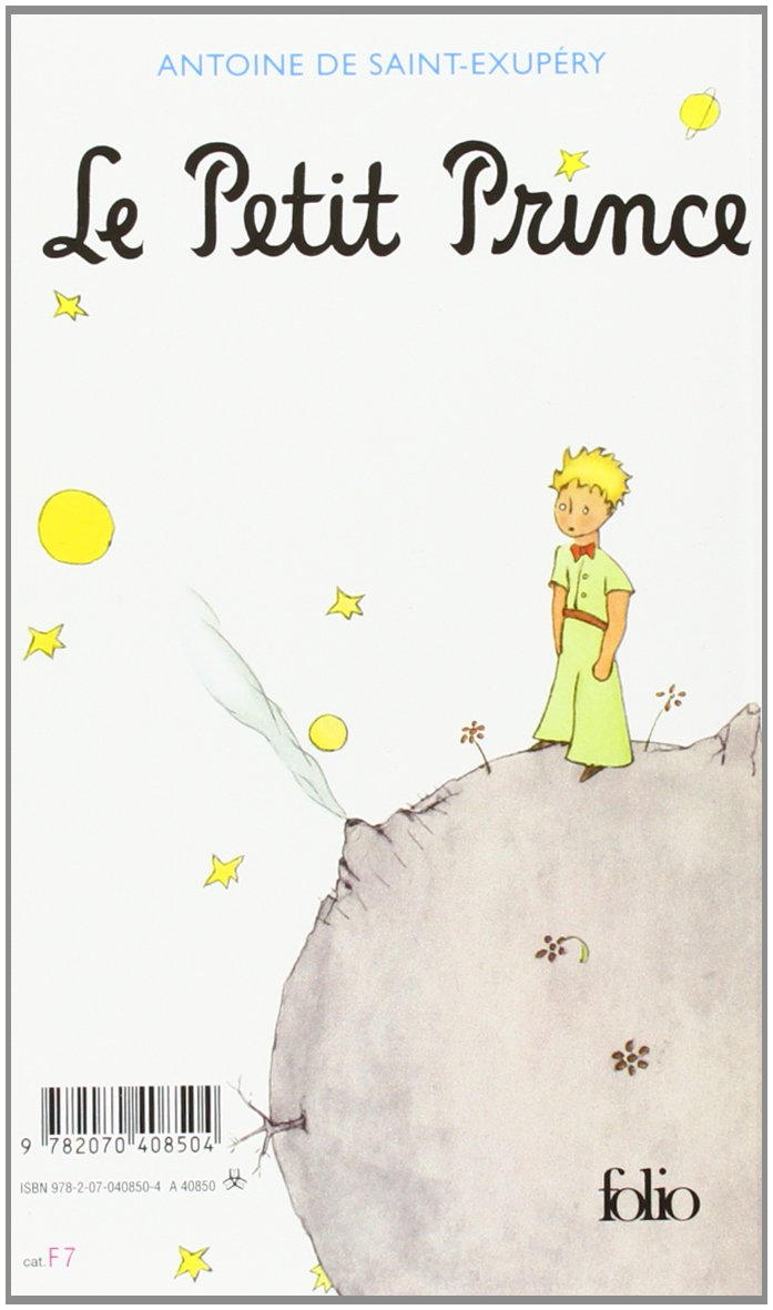 Buy Le Petit Prince Collection Folio Gallimard Book