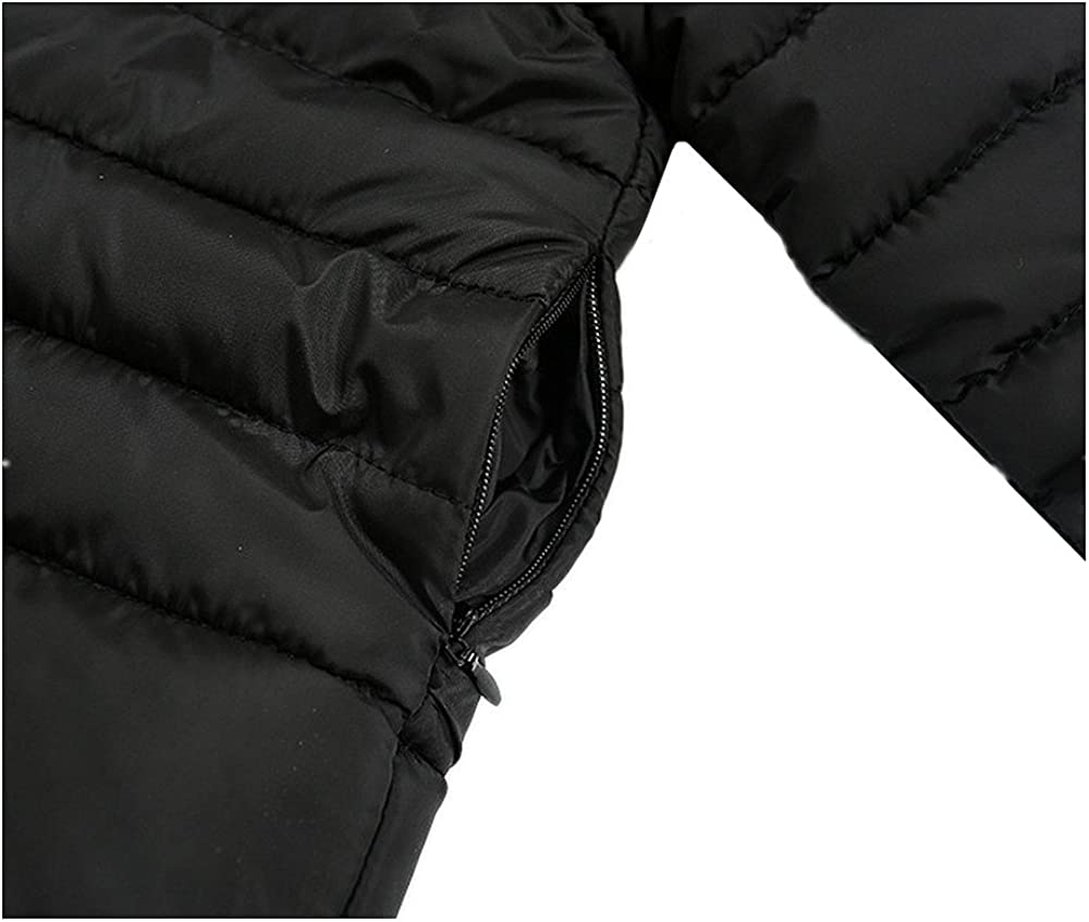LJYH Baby Toddler Boys Girls Hooded Puffer Jacket Kids Quilted Coat