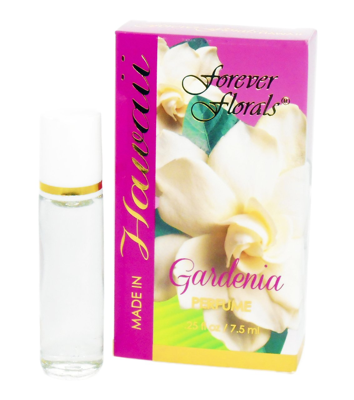 GARDENIA PERFUME - .25 FL OZ - MADE IN HAWAII - BODY CARE