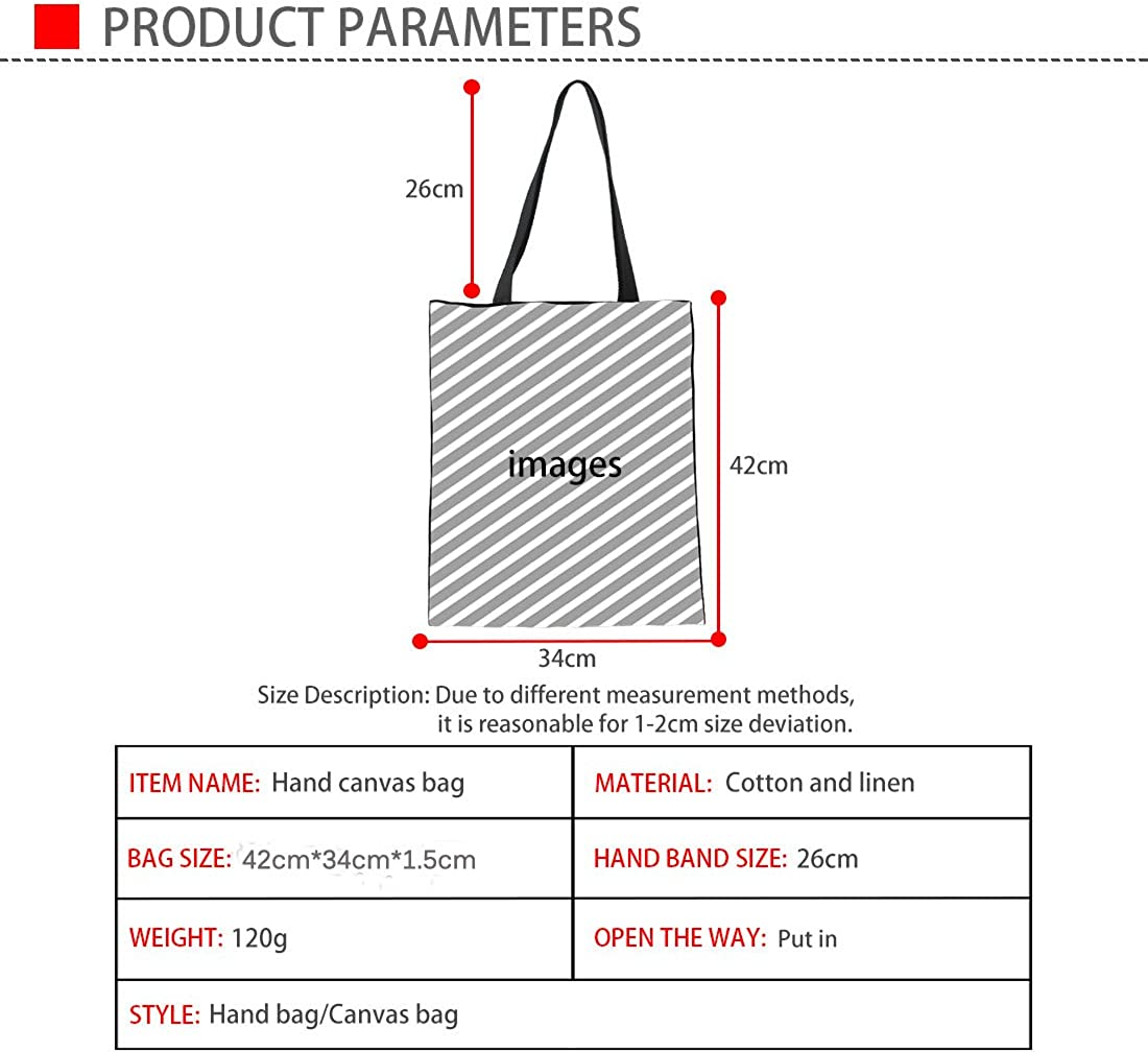 Coloranimal 3D Cowboy Animal Prints Linen Tote Shoulder Hand Bag for Women