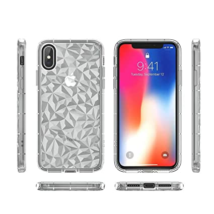 Amazon Com Fusicase For Iphone X Xs Shockproof Case Soft