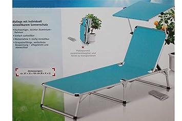 Bain Jardin De Avec Aluminium En Florabest Longue Chaise Soleil L4jq3A5R