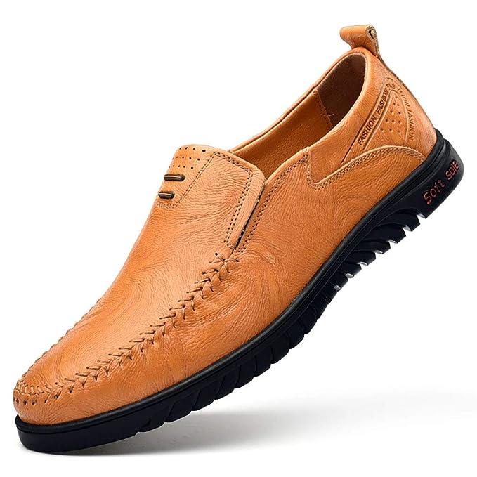 YAN Zapatos De Los Hombres De Cuero Primavera/Verano/Otoño Comodidad/Suelas De