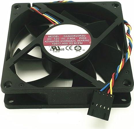aorsi dasa0820r2u 12 V 0,60 A 8020 8 cm 4 cables Control de la ...