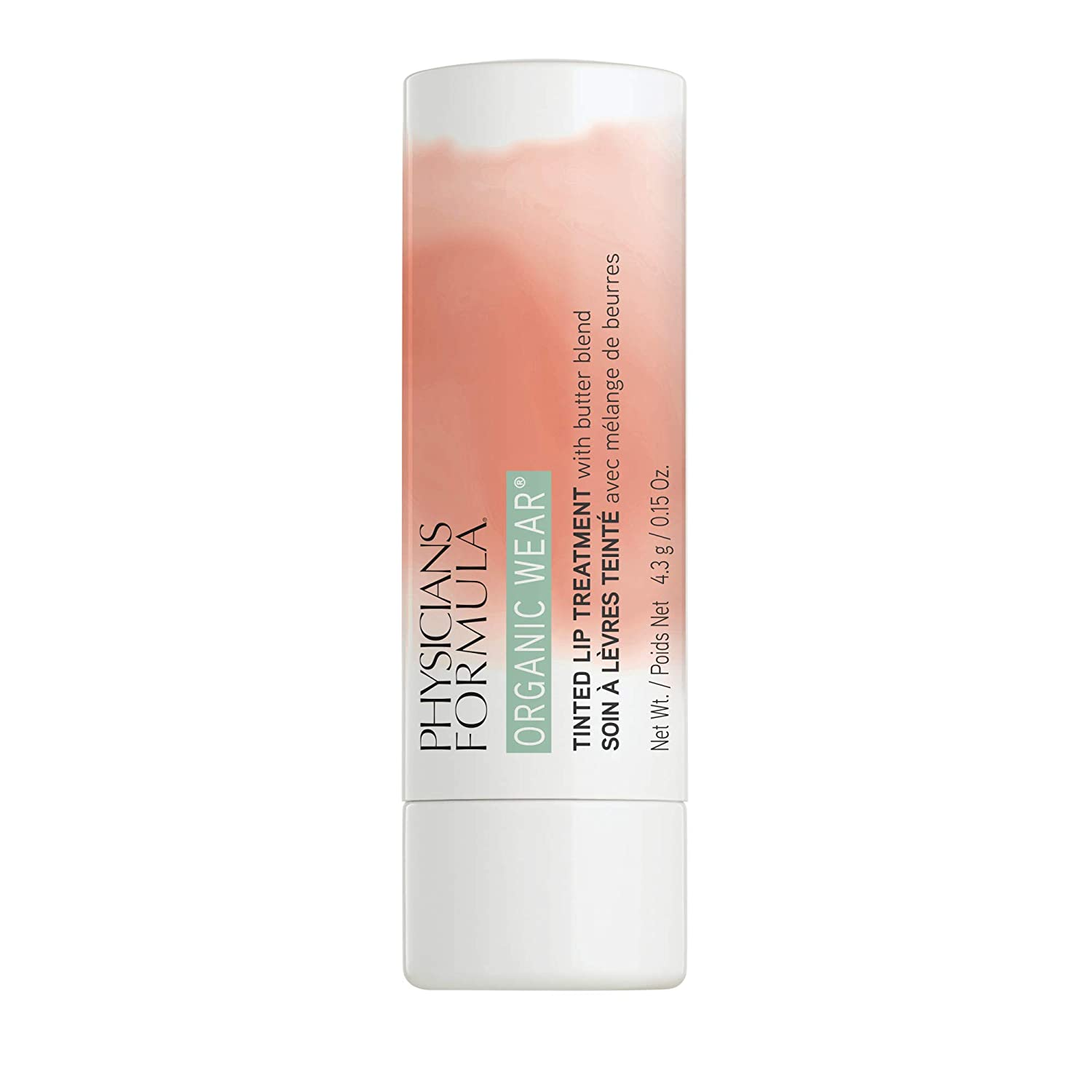 Physicians Formula Organic Wear Tinted Lip Treatment, Gingersnap, 0.15 Ounce