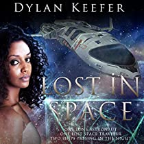 LOST IN SPACE: ONE LONE ASTRONAUT, ONE LOST SPACE TRAVELER, TWO SHIPS PASSING IN THE NIGHT